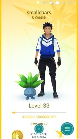 App, Pokémon GO, buddy/夥伴