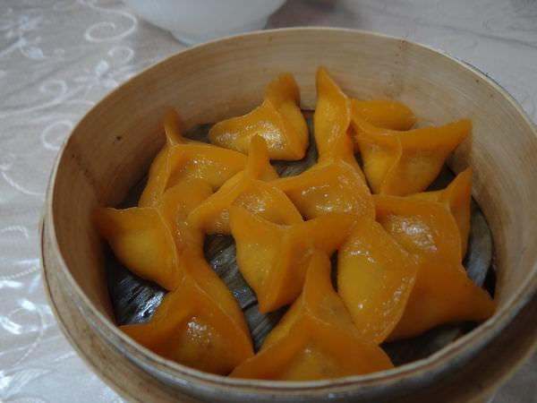 香林小館, 餐點, 地瓜餃(蒸)