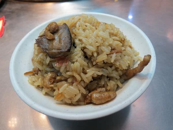 基隆廟口夜市, 吳記螃蟹羹, 油飯