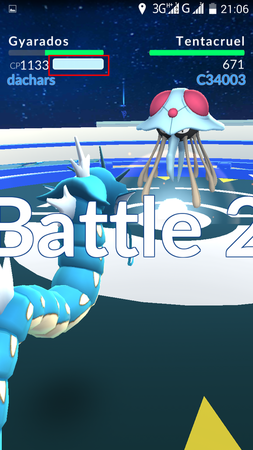 APP, Pokémon GO, 道館戰鬥, 絕招
