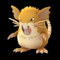 APP, Pokémon GO, 寶可夢圖片, #020 拉達/Raticate