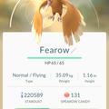 APP, Pokémon GO, 寶可夢資料, #022 大嘴雀/Fearow