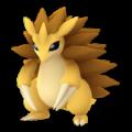 APP, Pokémon GO, 寶可夢圖片, #028 穿山王/Sandslash