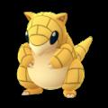 APP, Pokémon GO, 寶可夢圖片, #027 穿山鼠/Sandshrew