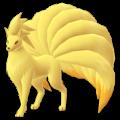 APP, Pokémon GO, 寶可夢圖片, #038九尾/Ninetales