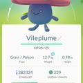 APP, Pokémon GO, 寶可夢資料, #045 霸王花/Vileplume