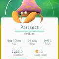 APP, Pokémon GO, 寶可夢資料, #047 派拉斯/Parasect