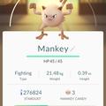 APP, Pokémon GO, 寶可夢資料, #056 猴怪/Mankey