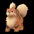 APP, Pokémon GO, 寶可夢圖片, #058卡蒂狗/Growlithe