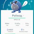 APP, Pokémon GO, 寶可夢資料, #060 蚊香蝌蚪/Poliwag