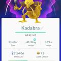 APP, Pokémon GO, 寶可夢資料, #064 勇基拉/Kadabra