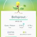 APP, Pokémon GO, 寶可夢資料, #069 喇叭芽/Bellsprout