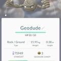 APP, Pokémon GO, 寶可夢資料, #074 小拳石/Geodude