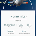 APP, Pokémon GO, 寶可夢資料, #081 小磁怪/Magnemite