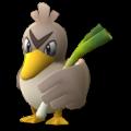 APP, Pokémon GO, 寶可夢圖片, #083大蔥鴨/Farfetch'd