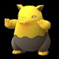 APP, Pokémon GO, 寶可夢圖片, #096催眠貘/Drowzee
