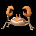 APP, Pokémon GO, 寶可夢圖片, #098大鉗蟹/Krabby