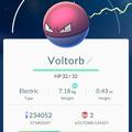 APP, Pokémon GO, 寶可夢資料, #100 霹靂電球/Voltorb
