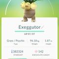 APP, Pokémon GO, 寶可夢資料, #103 椰蛋樹/Exeggutor