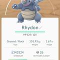 APP, Pokémon GO, 寶可夢資料, #112 鑽角犀獸/Rhydon