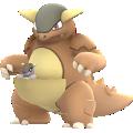 APP, Pokémon GO, 寶可夢圖片, #115袋獸/Kangaskhan