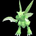 APP, Pokémon GO, 寶可夢圖片, #123飛天螳螂/Scyther