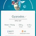 APP, Pokémon GO, 寶可夢資料, #130 暴鯉龍/Gyarados