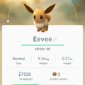APP, Pokémon GO, 寶可夢資料, #133 伊布/Eevee