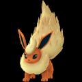 APP, Pokémon GO, 寶可夢圖片, #136火伊布/Flareon