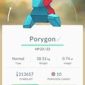 APP, Pokémon GO, 寶可夢資料, #137 多邊獸/Porygon