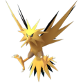 APP, Pokémon GO, 寶可夢圖片, #145閃電鳥/Zapdos