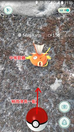 APP, Pokémon GO, 捕捉05