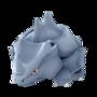 APP, Pokémon GO, 寶可夢圖片, #111獨角犀牛/Rhyhorn