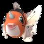 APP, Pokémon GO, 寶可夢圖片, #119金魚王/Seaking