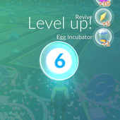 App, 精靈寶可夢GO, 等級, LV.06