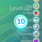 App, 精靈寶可夢GO, 等級, LV.10