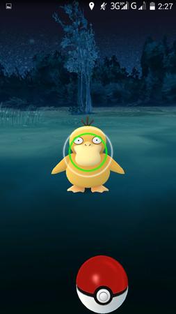 APP, Pokémon GO, 捕捉, 難易度01