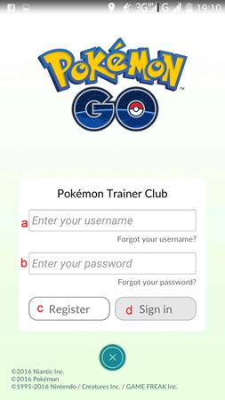 APP, Pokémon GO, 帳號註冊03