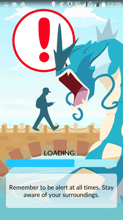 APP, Pokémon GO, 登入畫面01