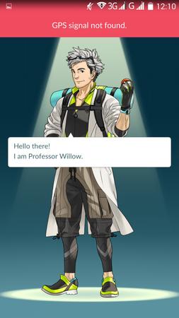 APP, Pokémon GO, 基本設定01