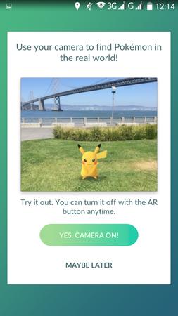 APP, Pokémon GO, 遊戲教學01