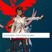 APP, Pokémon GO, 隊伍, 紅隊