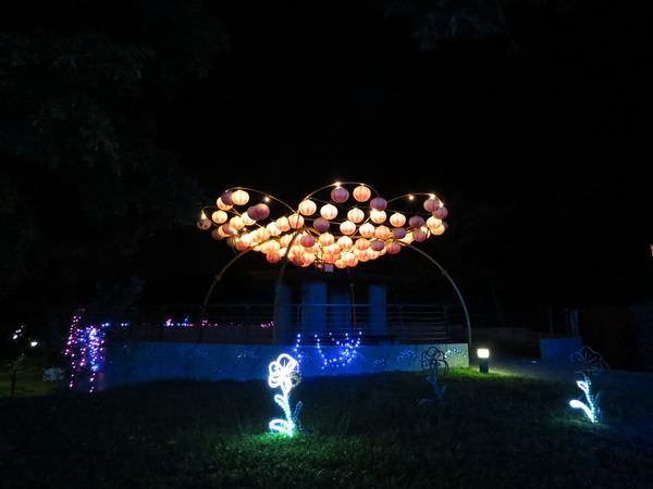 嶺頂公園, 台灣燈會花燈