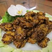 原味山產美食, 餐點, 黑糖蜜香菇