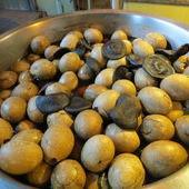 關仔嶺沖繩黑糖剉冰, 香菇蛋