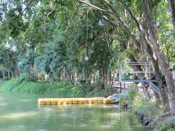 台糖尖山埤江南渡假村, 公共設施, 跳水台
