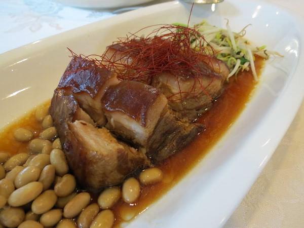 台糖尖山埤江南渡假村, 餐廳, 桂華園, 餐點, 非基改黃豆控肉