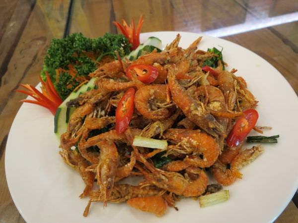 原味山產美食, 餐點, 鹹酥過山蝦