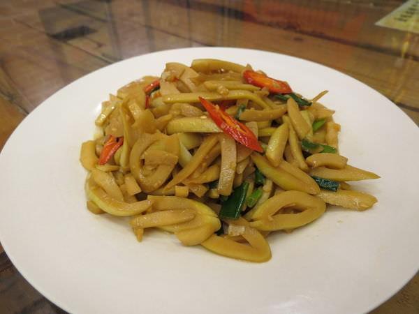 原味山產美食, 餐點, 關仔領桂竹筍
