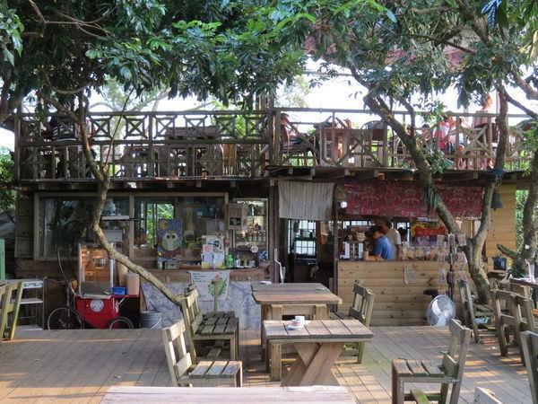 大鋤花間咖啡生態農場, 用餐環境, 櫃台